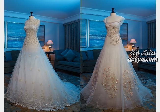 لعام 2013فساتين زفاف للعروس الرومانسيةفساتين زفاف للمصممة العالمية غديرافغاني في