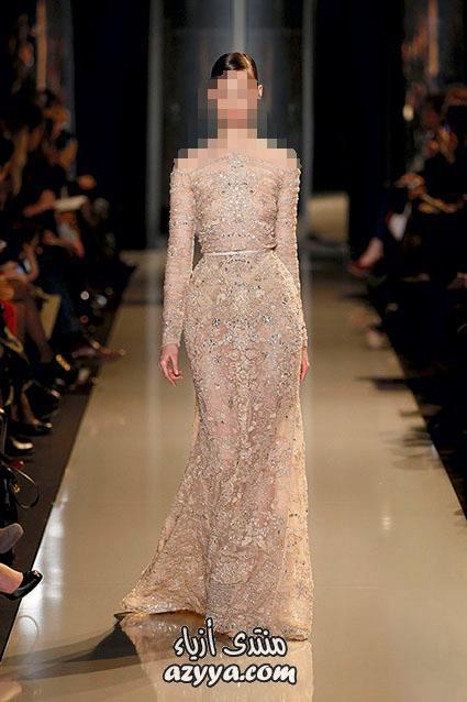 مواضيع ذات صلةأزياء 2013 للمصمم اللبناني إيلي صعب تشكيلة فساتين