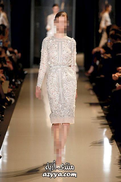 في موديلات فساتين السهرة 2013فساتين سهرة من زهير مراد لربيع
