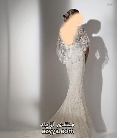 احدث فساتين زفاف للعروسةجزادين سهرة مدهشة ,تصاميم جديدة وراقية من