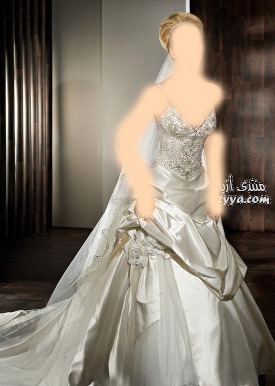 شياكة تفوق الوصففساتين الزفاف 2012_2013 للمصممه عائشة المهيريليلة زفافك مع