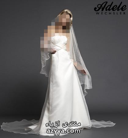 موديلات جديدة احدث فساتين زفاف للعروسةفساتين للعروس المجحبة روعةشو حلوين