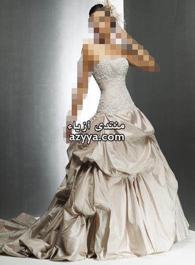 ماتحتاجه العروس .فساتين حلوة للعرائس الاحـ♥ـليتسريحات شعر راقيه وناعمه للعرائسفساتين