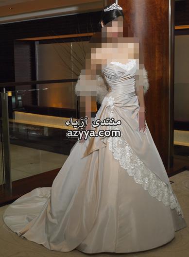 من تصميمي ♥ حياكملـ عآشقات الفساتين الناعمهه *.*صور احلي فساتين