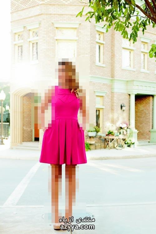 من لانفينكيف تلبسين اللون الوردي شتاء 2014اطلالات باللون الورديتنسيقات باللون