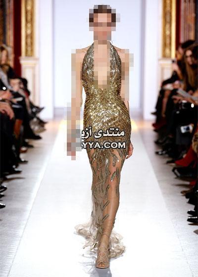 2014 الذهبي مع المصمم اللبناني زهير مراد جديد 2014
