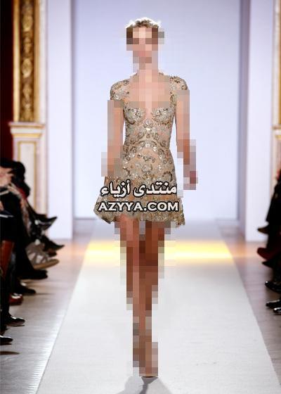 زهير مراد ربيع 2013 باريساحدث تصاميم فسالتين السهرة.جديد المصمم اللبناني