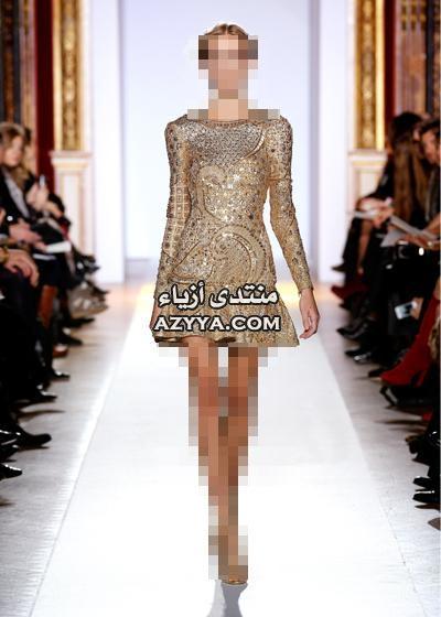 ما قدم المصمم اللبناني نيكولا جبران من فساتين سهرة 2013فساتين