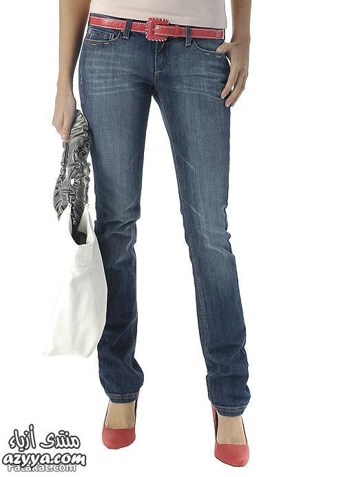 جينز من برمودا روعةصور بنطلونات جينز وبلايز للفتيا ناعمة وحرة