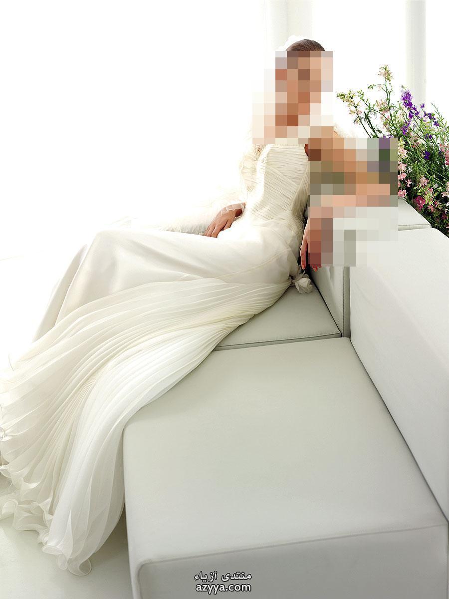 قمة الرقيفساتين زفاف فرنسيةفساتين زفاف صيف 2014 من bertaأجمل وأرقى