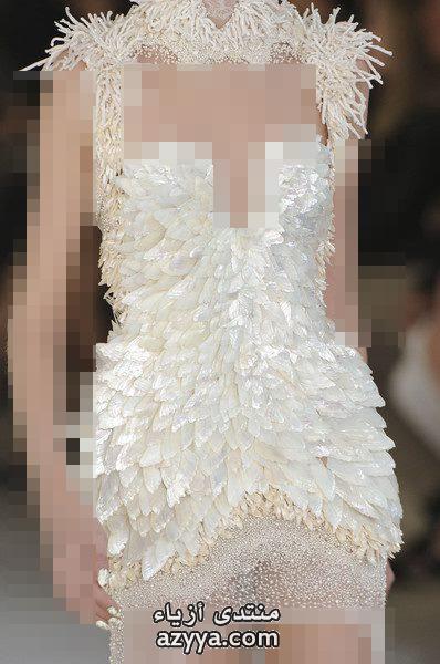 اللبناني نيكولا جبران من فساتين سهرة 2013اجمل الفساتين اللامعة ل