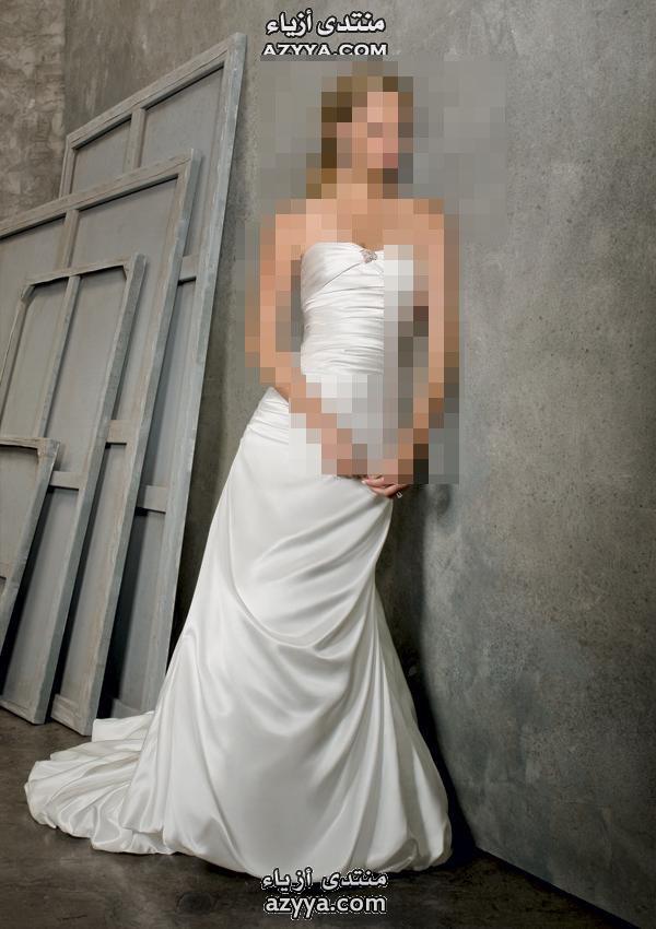 الرومانسية.فساتين زفاف ريم عكرا2014فساتين الزفاف للمصممة Amsale ربيع - صيف