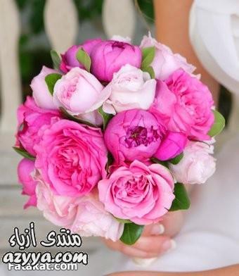بالكريستال والورود الجميلةاجمل صور باقات الورد الرومانسيه 2014اضيفي اللون البيج