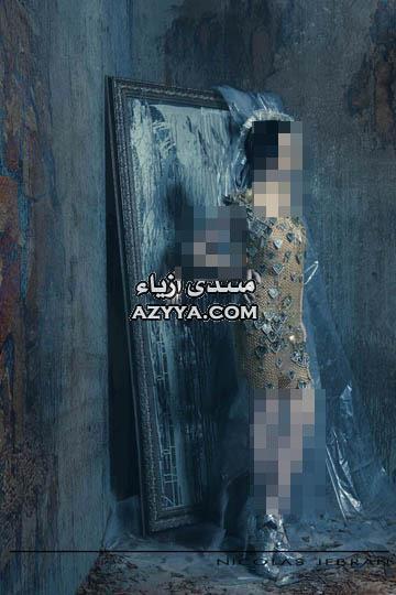 تصاميم فسالتين السهرة.جديد المصمم اللبناني عبد محفوظصيفيات المصمم نيكولا جبران