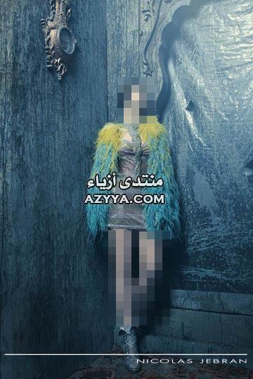 جبرانروائع المصمم اللبناني جورج حبيقة لفساتين السهرة 2014 من روائع